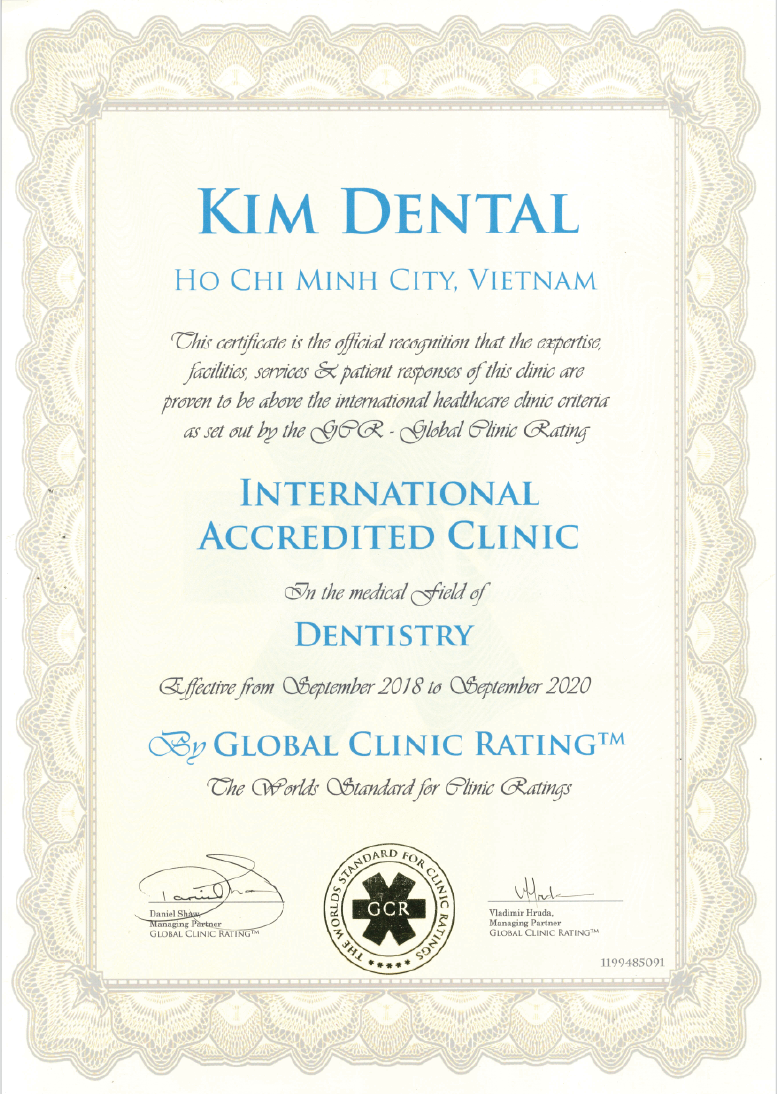 International dental standards (CGR)